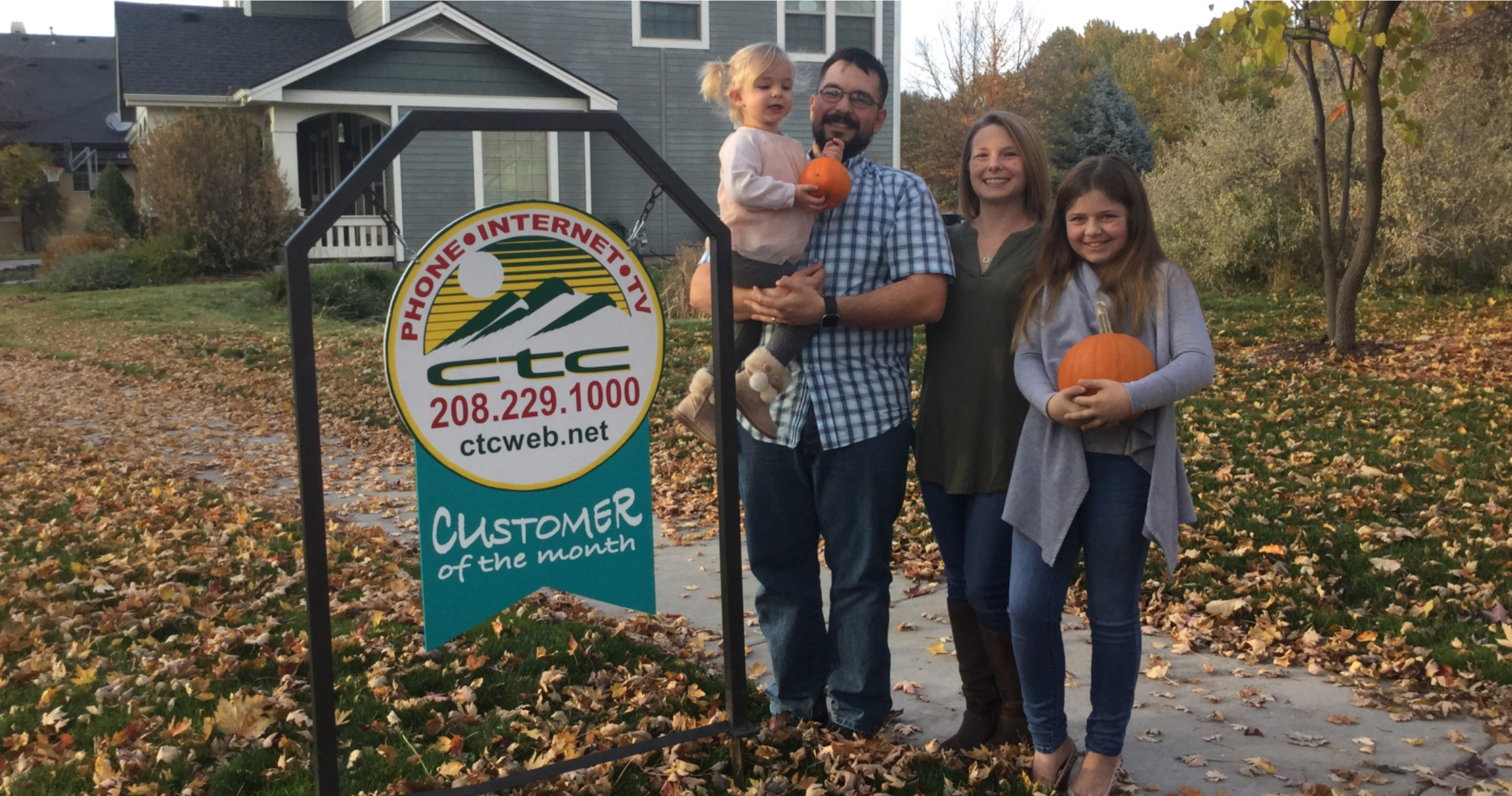 November Customers of the Month!